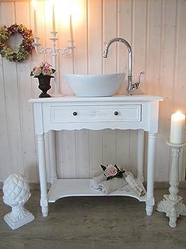 País & Amor de Muebles de Baño GmbH Lionel: Rústico de Lavabo de