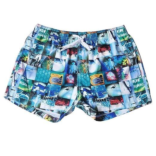 MELLRO Shorts de Playa para Hombre Traje de baño para Hombre ...