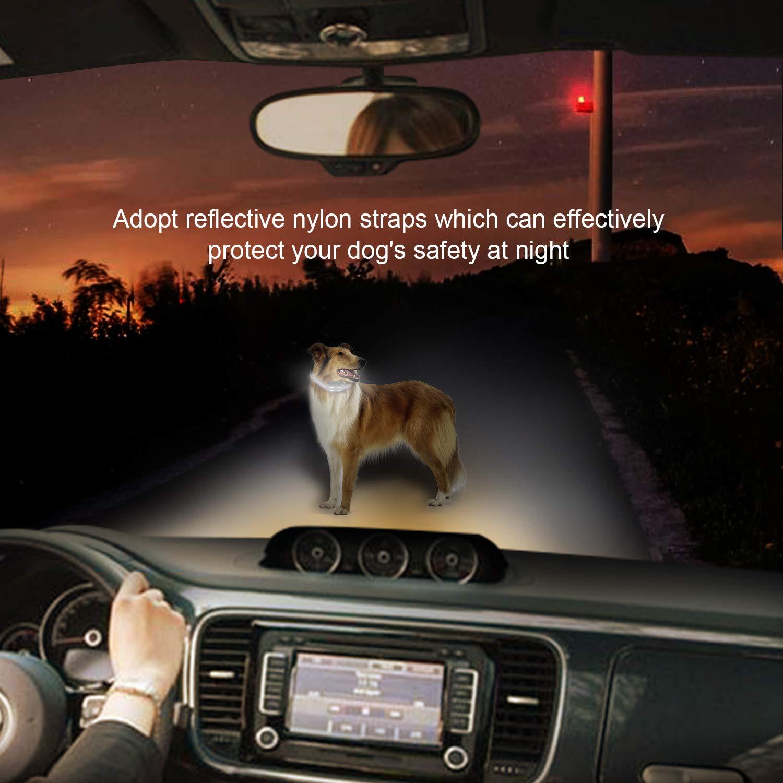 AOWIN Dog Bark Collar 5 Adjustable Sensitivity and Intensity Levels Dual Anti Barking Modes Rechargeable Rainproof Reflective No Barking Control Dog Shock Collar for Small Medium Large Dog