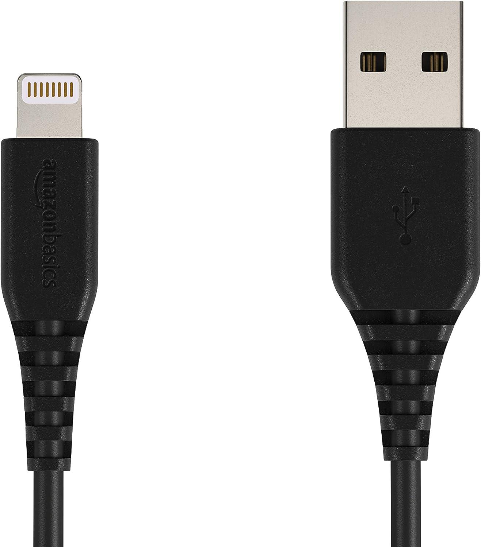 Amazon Basics Lightning Auf Usb A Kabel Apple Mfi Zertifiziert Schwarz 1 8 M 12er Pack Elektronik