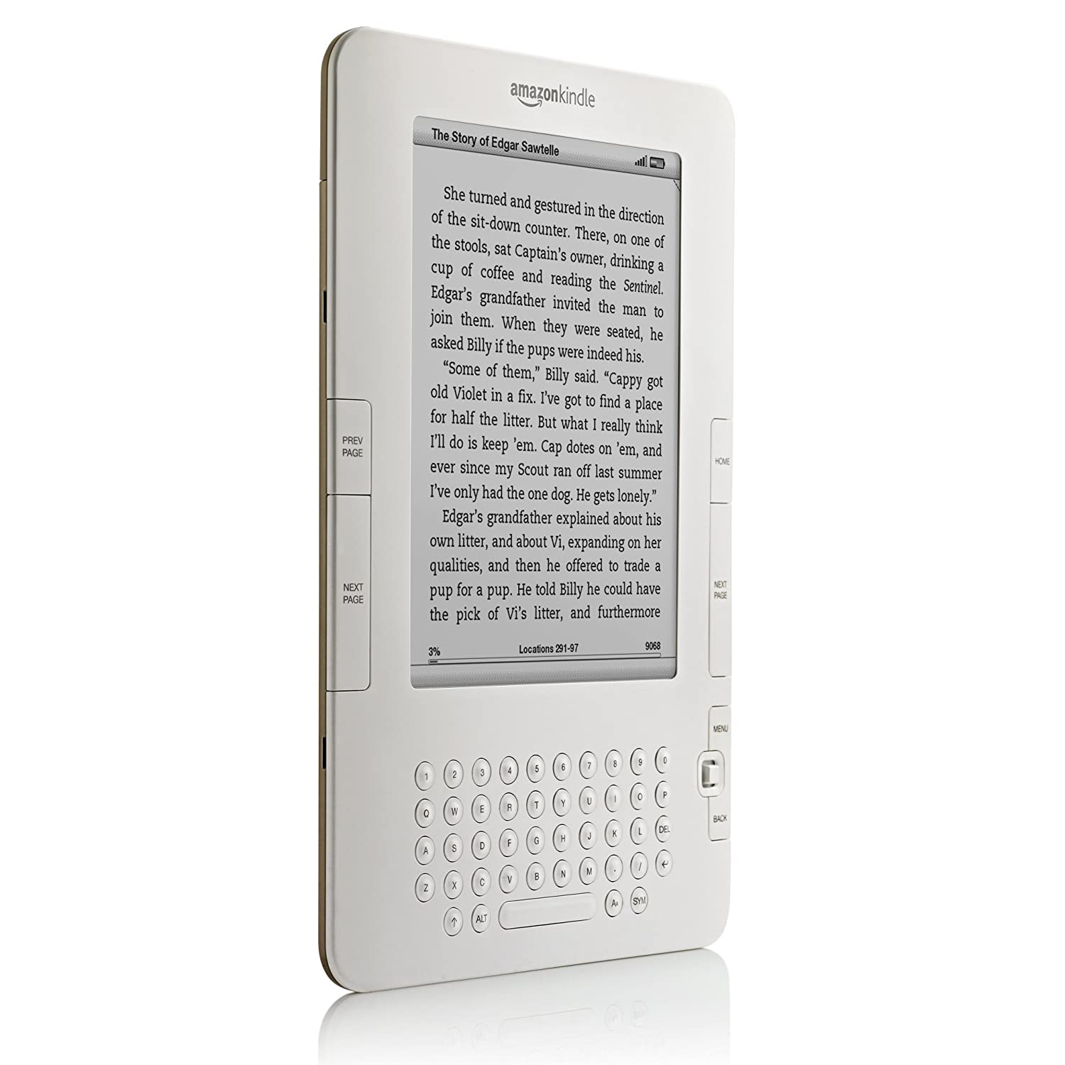 Amazon: Kindle Wireless Reading Device, Free 3g, 6