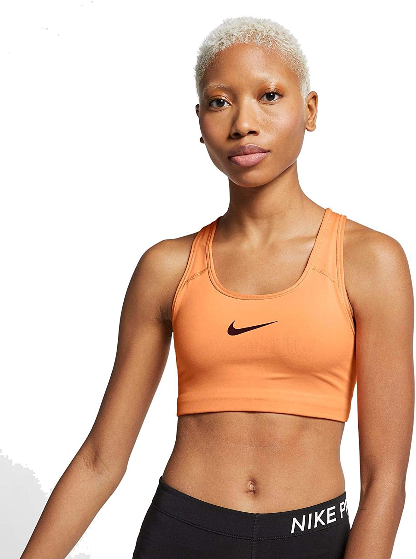 nike women's pro classic swoosh sports bra