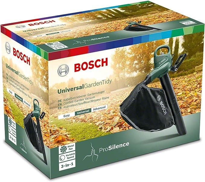 Bosch 06008B1070 UniversalGardenTidy 1800 W Souffleuse De Jardin Extérieur