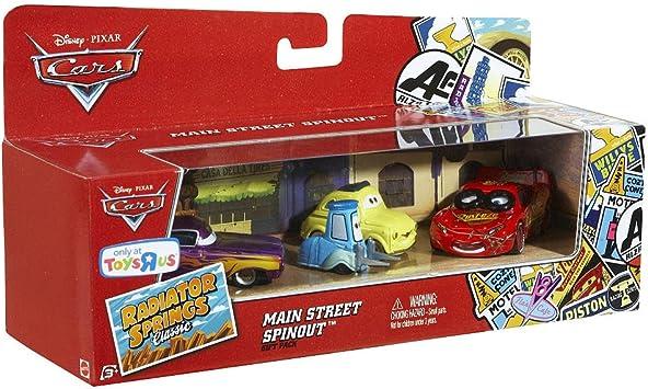 Mattel Cars - Pack Cars 3 Coches: Amazon.es: Juguetes y juegos