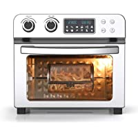 Mighty Chef Jumbo Air Fryer Oven 23L All 8 Accessories Included 1700W Dehydrator Rotisserie Zero Guilt 80% Less Oil…
