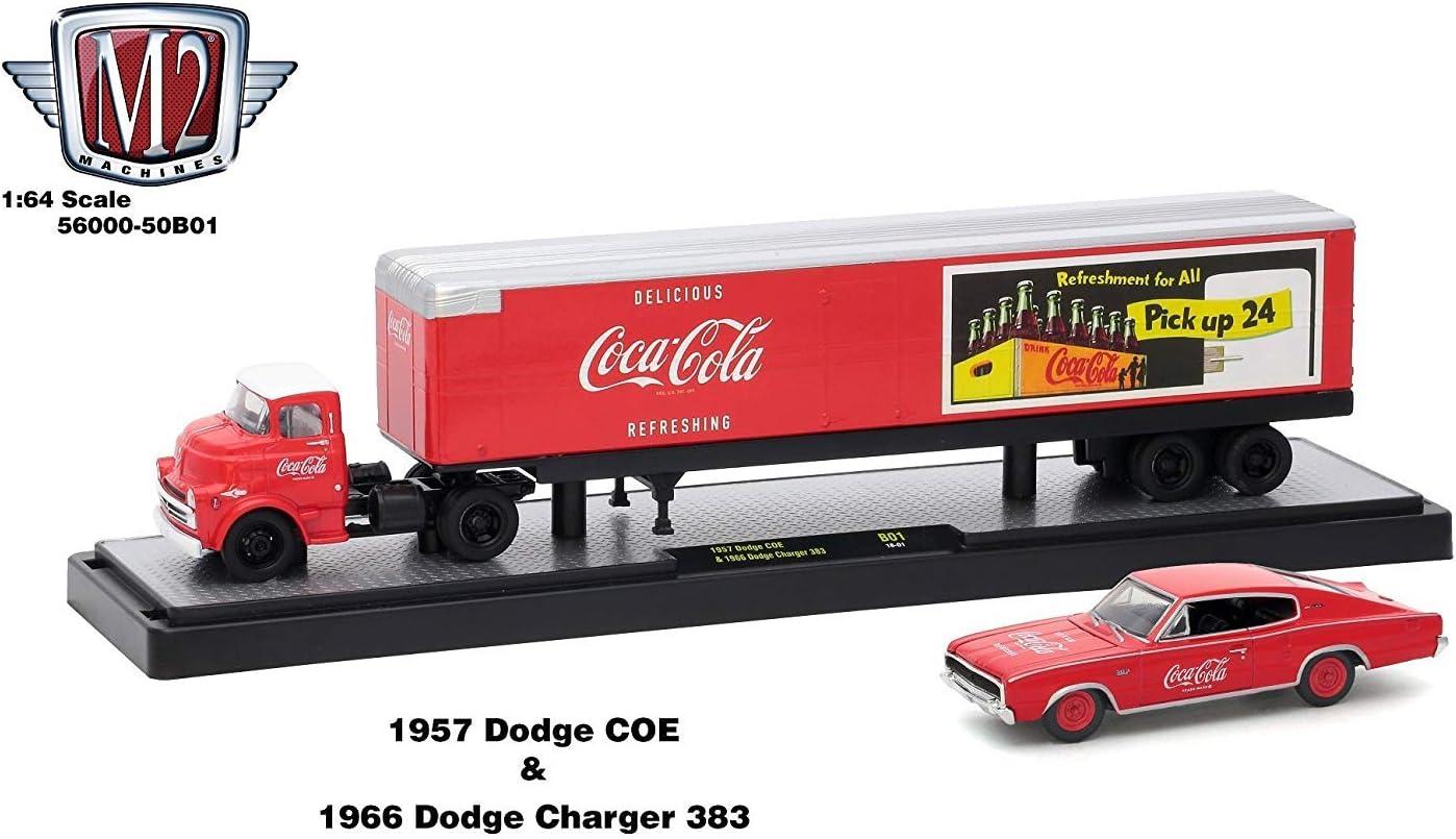 New M2 Machines Coca-Cola Auto Haulers 1:64 Scale Release RC01