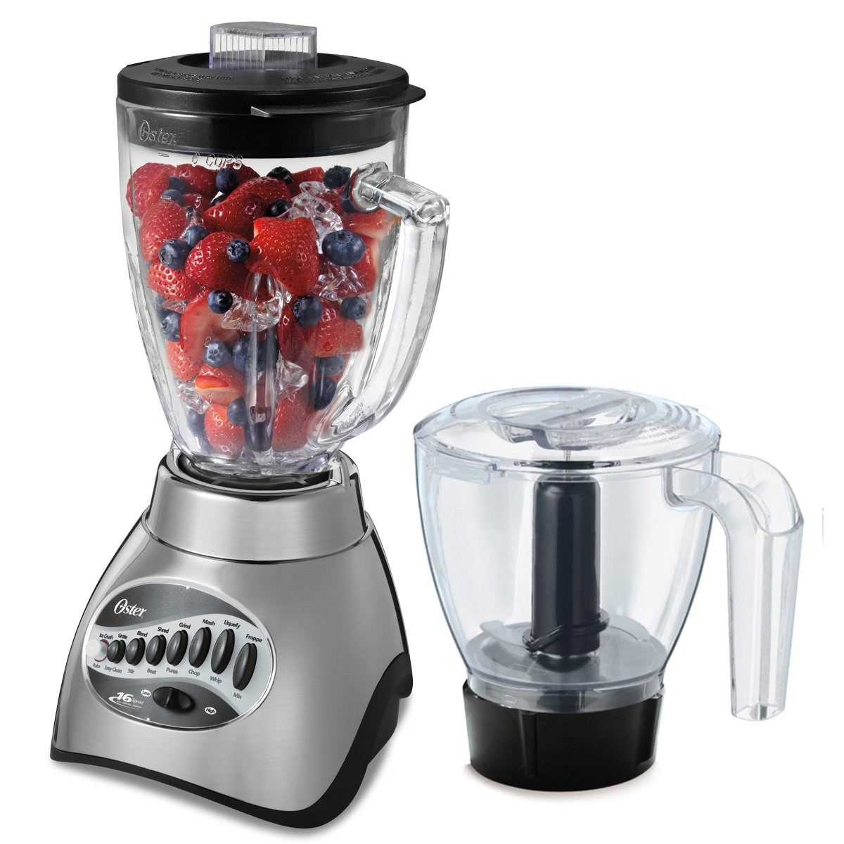 Oster Core 16-Speed Blender with Glass Jar, Black, 006878