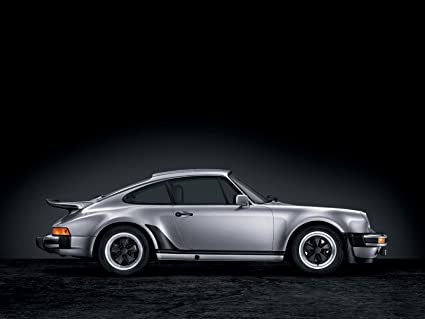 Classic y los músculos de los coches y Porsche 911 AUTO (930) arte (