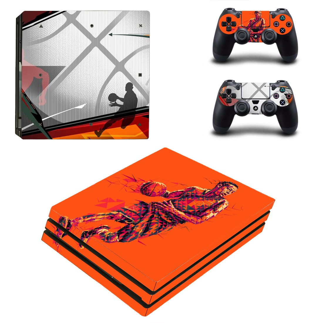 9f63d58e110 ... Basketball Baseball PS4 Pro Designer Skin Game Console System p 2  Controller Decal Vinyl Protective Covers Stickers for Playstation 4 Pro  (Future)