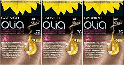 Garnier Olia 7G Cool Rubio Medio – tinte permanente para ...