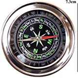 Divine Miracles Stainless Steel Directional Magnetic Compass For Feng Shui / Travel ( Black )