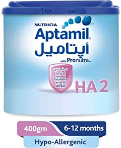 Aptamil Hypo-Allergenic 2 Follow On Milk, 400g