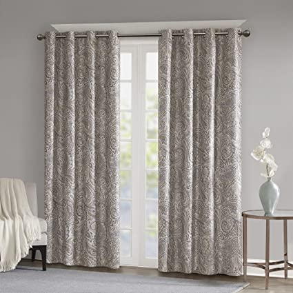 amazon com blackout curtains for bedroom traditional grommet