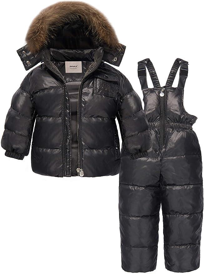Amazon.com: Traje para la nieve para niñas Zoerea ...