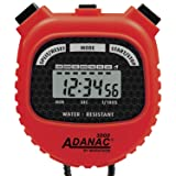 MARATHON Adanac 3000 Digital Sports Stopwatch Timer with Extra Large Display and Buttons, Water