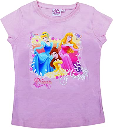 Disney Princess Kids Girls T-Shirt A Princess Thing Light Pink