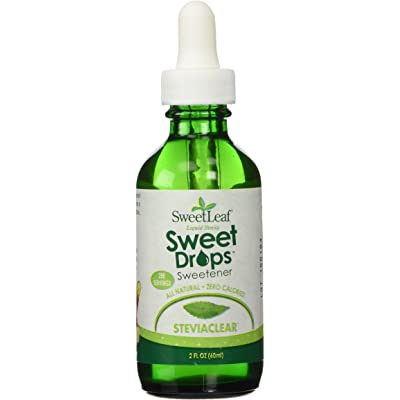 SWEET LEAF STEVIA EXTRACT CLEAR, 2 FZ