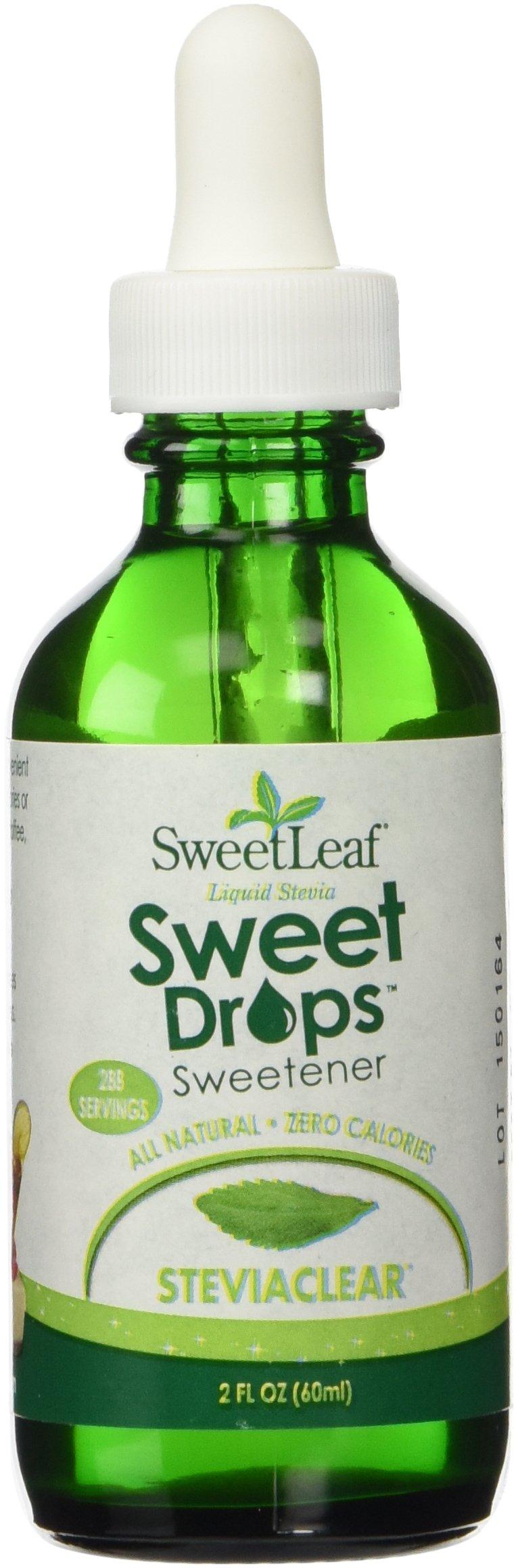 Sweet Leaf Stevia Clear, 2 fl oz (60 ml) by Sweet Leaf