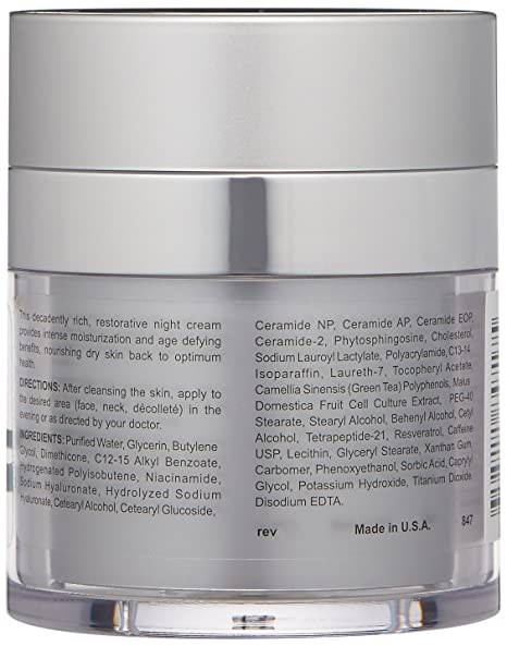 Replenix Enriched Nighttime Bio-Therapy Night Cream, 2 oz