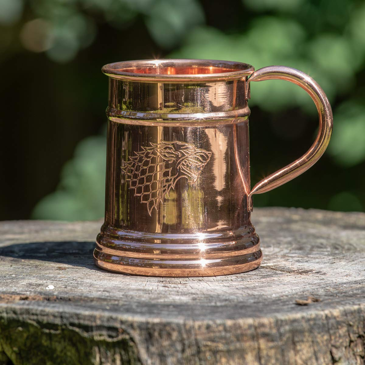 Game of Thrones Collectible Copper Stein (Stark) by Calhoun (Image #2)