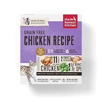 amazon com honest kitchen grain free chicken cat food recipe 4 lb rh amazon com