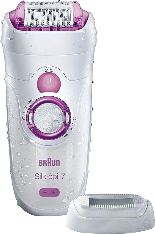 Braun Silk-épil 7 7 – 521 – Depiladora Wet & Dry sin cable ...