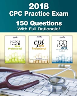 Official cpc certification study guide exam review guides cpc practice exam 2018 includes 150 practice questions answers with full rationale exam fandeluxe Choice Image
