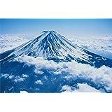 1000ピース ジグソーパズル Simple Style 雲海に浮かぶ富士 (50x75cm)