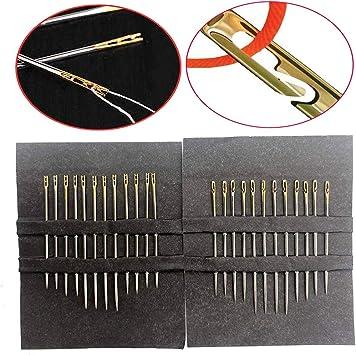 24 agujas de coser