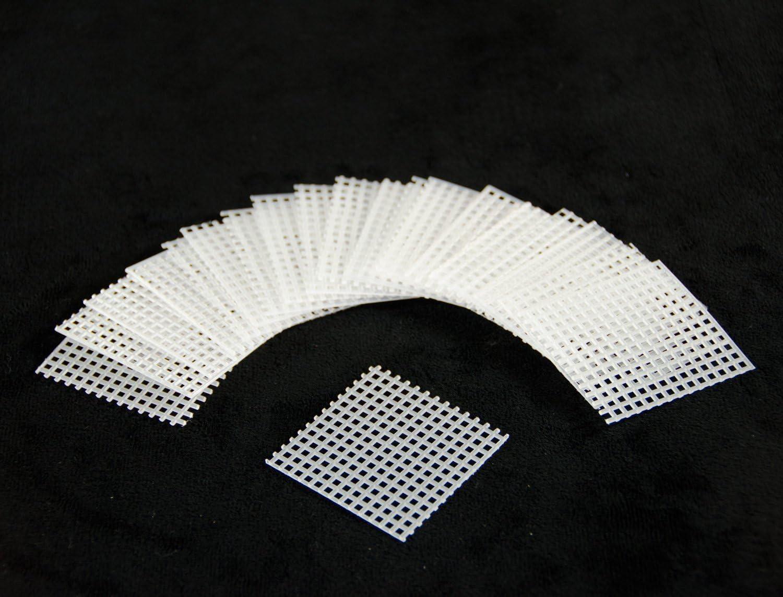 US Made 20 Pcs. 2 x 2 Plastic Drainage Mesh Screen Net For Bonsai Pot