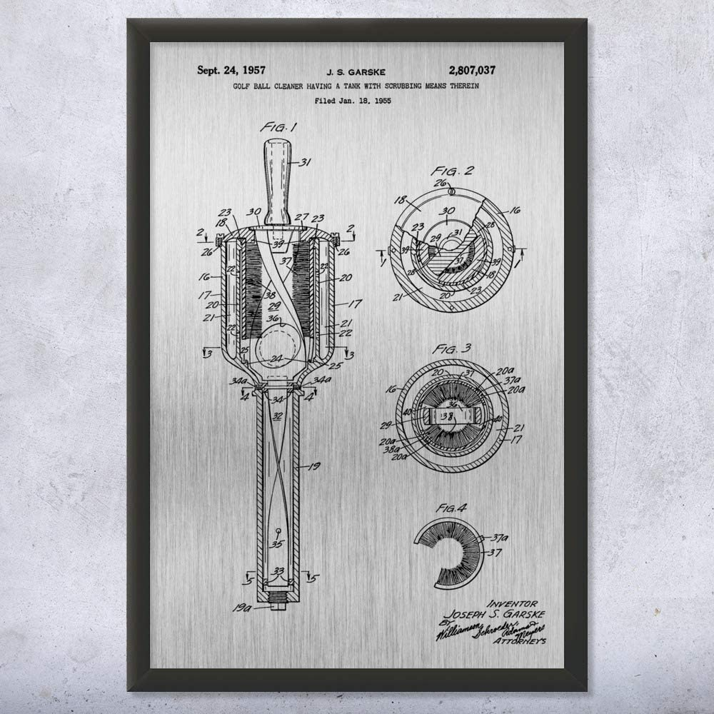 Amazon Com Patent Earth Framed Golf Ball Washer Print Golf Art Golf Gifts Golf Art Print Golf Decor Golf Wall Art Golf Caddie Gift 5 Inch X 7 Inch Posters Prints