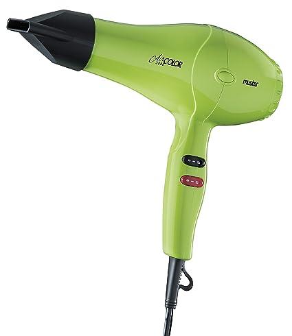 Muster Air Color, Secador de pelo (Verde) - 500 gr.