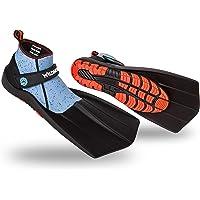 Wildhorn Topside Snorkel Fins-Compact Travel (Manta Ray)