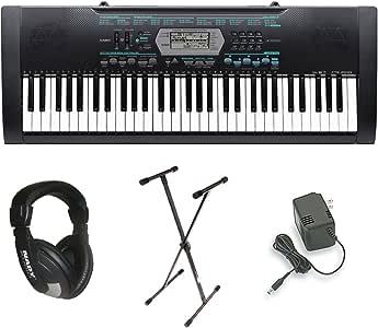 Amazon.com: Casio CTK-2100 61-Key Portable Keyboard ...