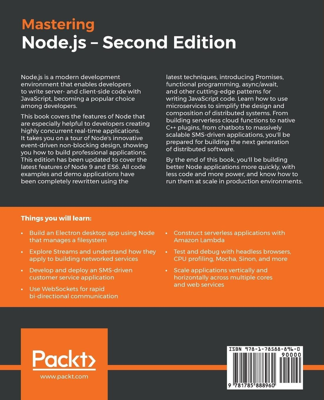 Buy Mastering Node Js Book Online At Low Prices In India