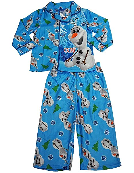 56c00d6ba Amazon.com  Frozen by Disney - Little Boys Long Sleeve Olaf Pajamas ...