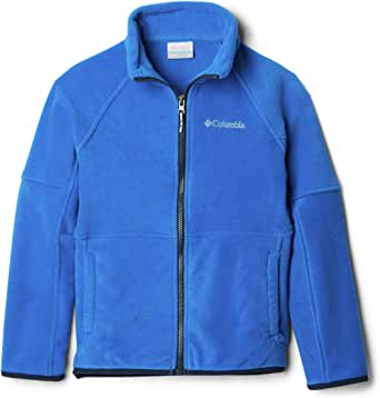 Columbia Youth Basin Trail Fleece Full Zip Jacket, Soft Fleece, Classic Fit
