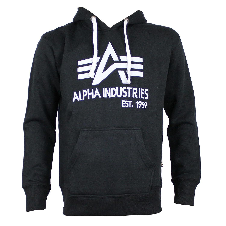 ALPHA INDUSTRIES Sweatshirt BIG A CLASSIC schwarz Größe XXL