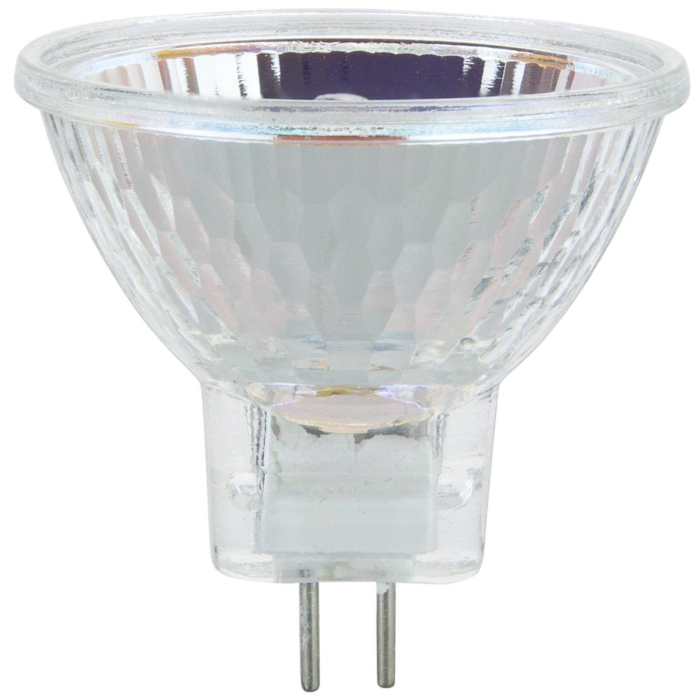 GU10 Base 36/° 3200K Bright White Light 6 Pack Sunlite 40774-SU 20MR11//CG//GU10//FL//120V//6PK Halogen 20W 120V MR11 Quartz Reflector Floodlight Bulbs