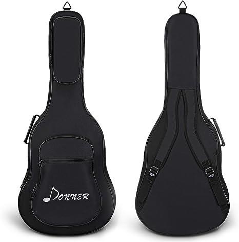 Donner Funda para Guitarra Acústica de 41 Pulgadas Bolsa ...