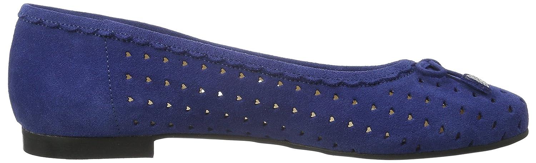 Diavolezza Damen Damen Diavolezza Jenny Ballerinas Blau (Blau) 43cd94