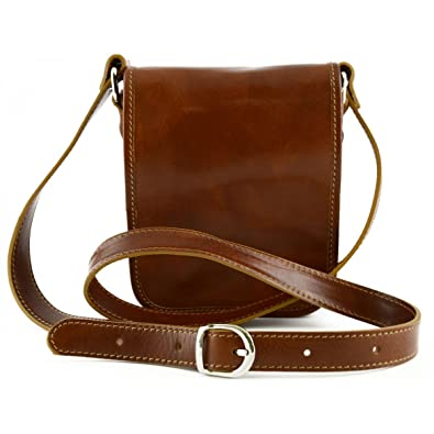 0a6386f74270 Image Unavailable. Image not available for. Color  Genuine Leather Bag for Man  2 Compartments ...