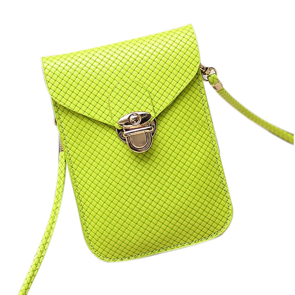 Functional Roomy Pocket Small Crossbody Bag Cell Phone Purse Wallet For Women by She25 (Image #1)