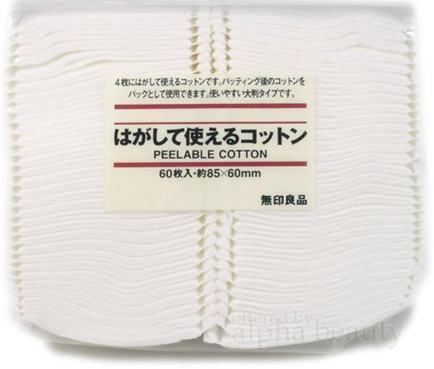 Cotton facial pads