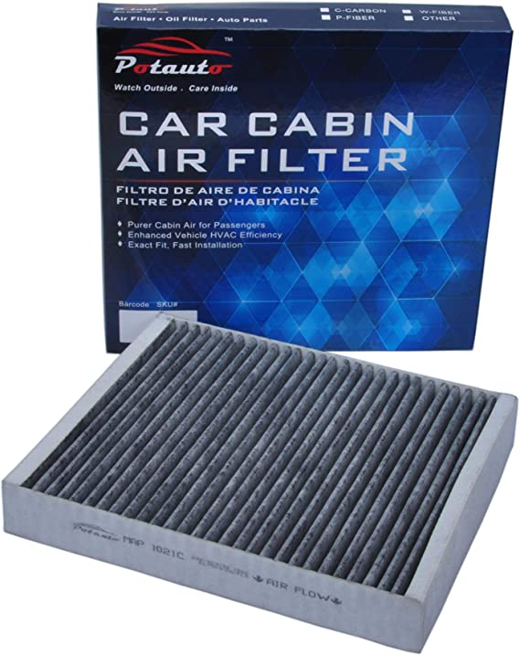 POTAUTO MAP 1021C (CF10775) Activated Carbon Car Cabin Air Filter for BUICK