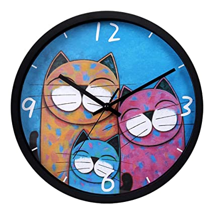 ZJⓇ Wall clock Creative Cartoon Wall Clock for Kids - Bedroom Baby Bedroom Decoration Quartz