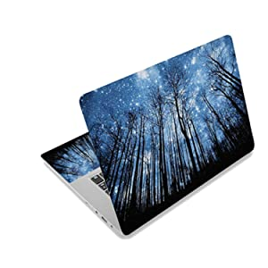 """Starry Sky Laptop Skin Cover Sticker Decal For Hp/ Acer/ Dell /Asus/ Sony Stickers For Laptop,10"""",Laptop Skin1"""