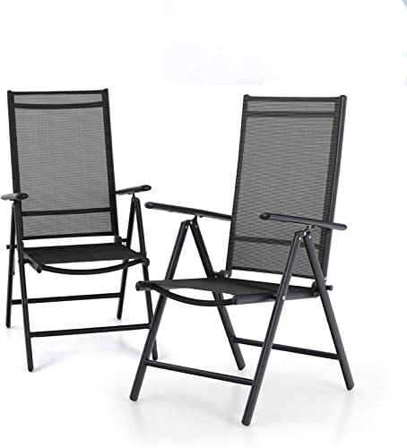 MFSTUDIO Patio Set of 2 Folding Chair
