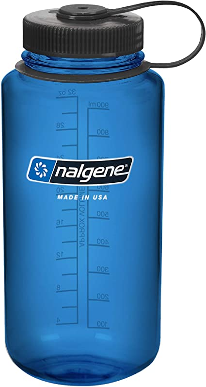 bleu 1 L Nalgene Narrow Bouche Tritan Bouteille