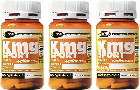 3 paquetes de 60 comprimidos Creatina Magnesio Potasio mayores de energía menos fatiga 60 CPR ¿